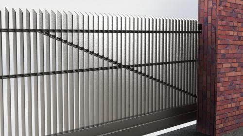 3D Dvoriscna samonosna vrata 8