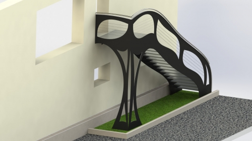 3D Kovinsko sopnisce 16