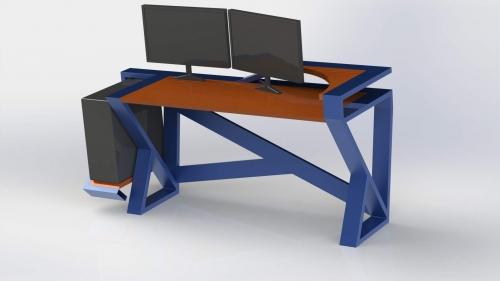 3D Moderna miza 1