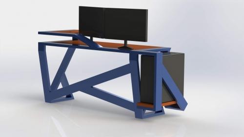 3D Moderna miza 2