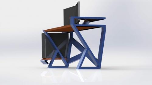 3D Moderna miza 3