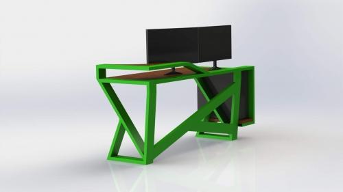 3D Moderna miza 4
