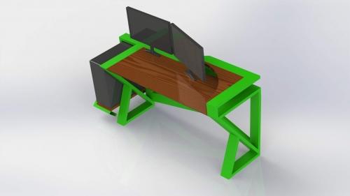 3D Moderna miza 5