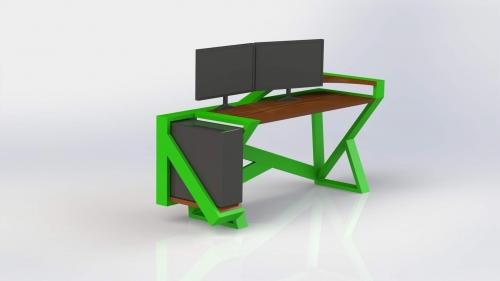 3D Moderna miza 6