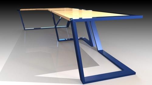 3D Moderna miza 7