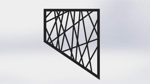 3D Ograja 3